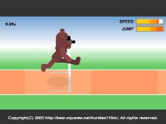 The 110m Hurdles(110mハードルオンラインゲーム)