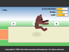 The Long Jump(走り幅跳びオンラインゲーム)