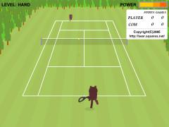 Bear Open Tennis(Flash 3Dテニスオンラインゲーム)