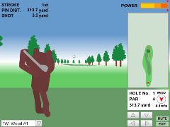 Bear Golf Tour(Flash 3Dゴルフオンラインゲーム)